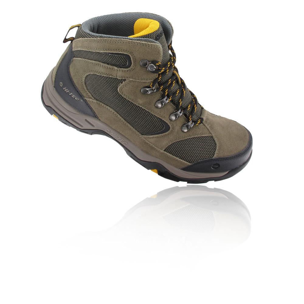Hi-Tec Storm Hombre Marrón Negro Resiste Agua Caminar Exterior Zapatos Botes