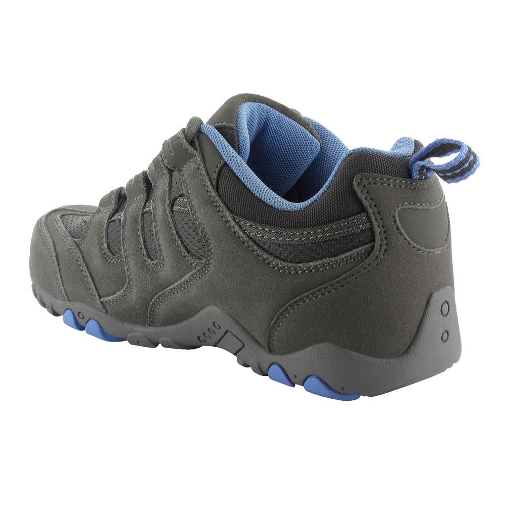 Hi-Tec Homme Quadra Classic Chaussures De Marche Marron Sports Extérieur Respirant En Daim