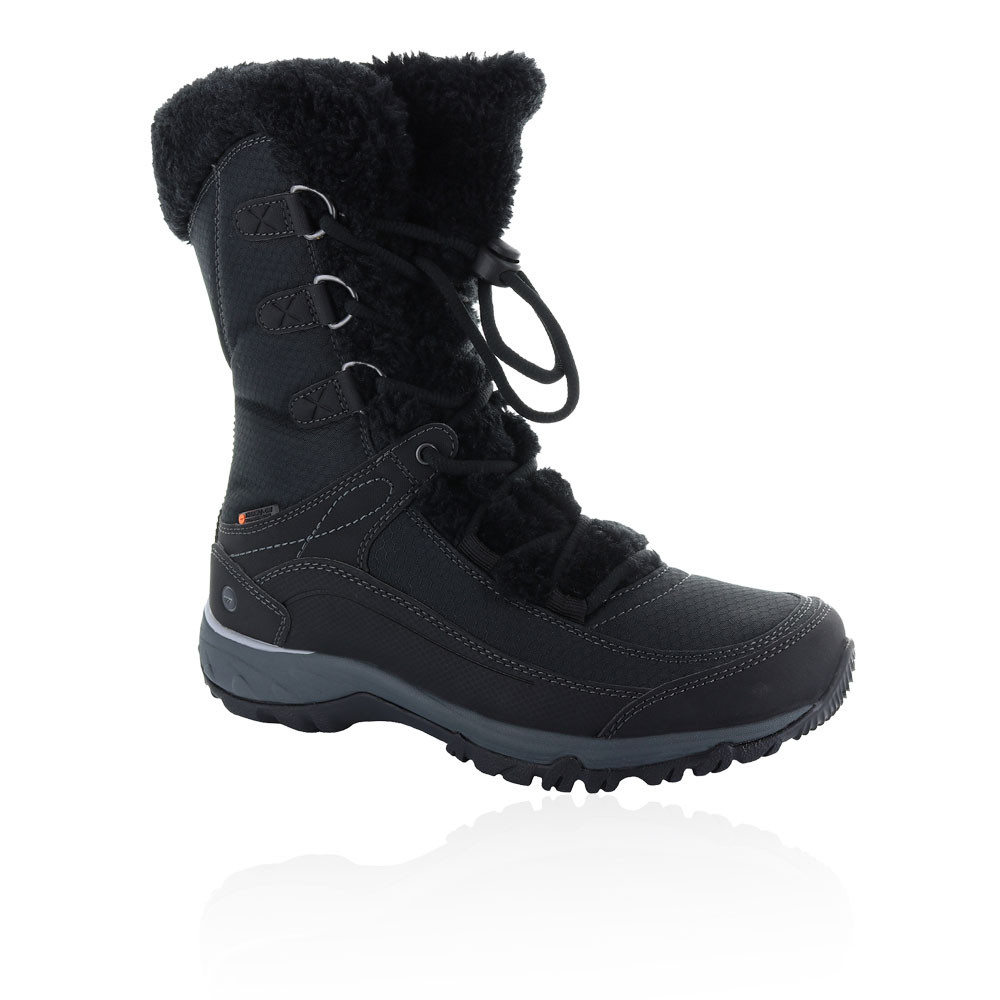 a4a5af79c10 Details about Hi-Tec Womens Equilibrio ST Bijou 200 I Waterproof Boots  Black Sports Outdoors