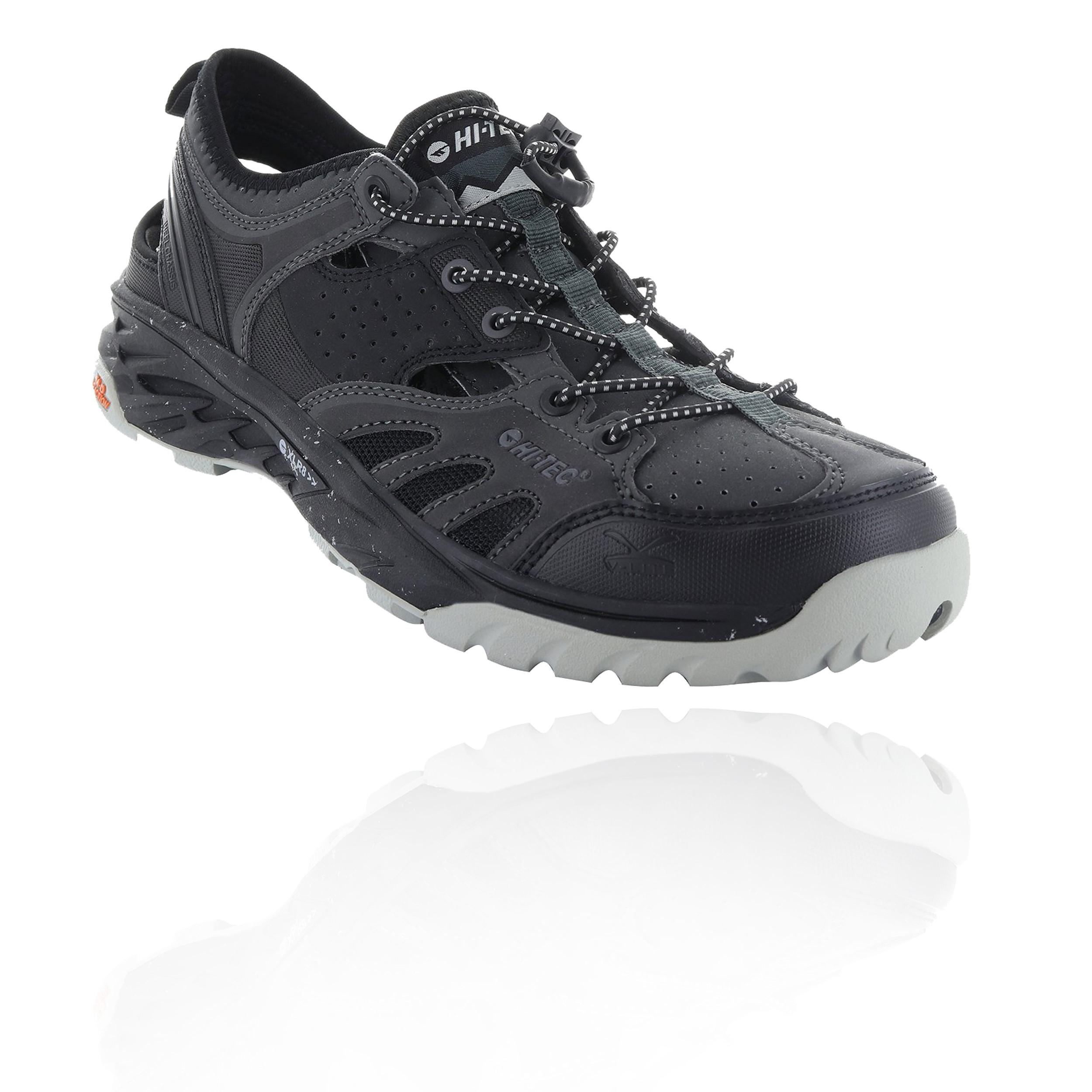 52f583ed07f Details about Hi-Tec Mens V-Lite Wild-Life Cayman Walking Shoes Black  Sports Outdoors