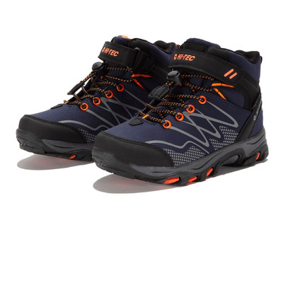 Hi-Tec Blackout Mid Waterproof Junior Walking Shoes