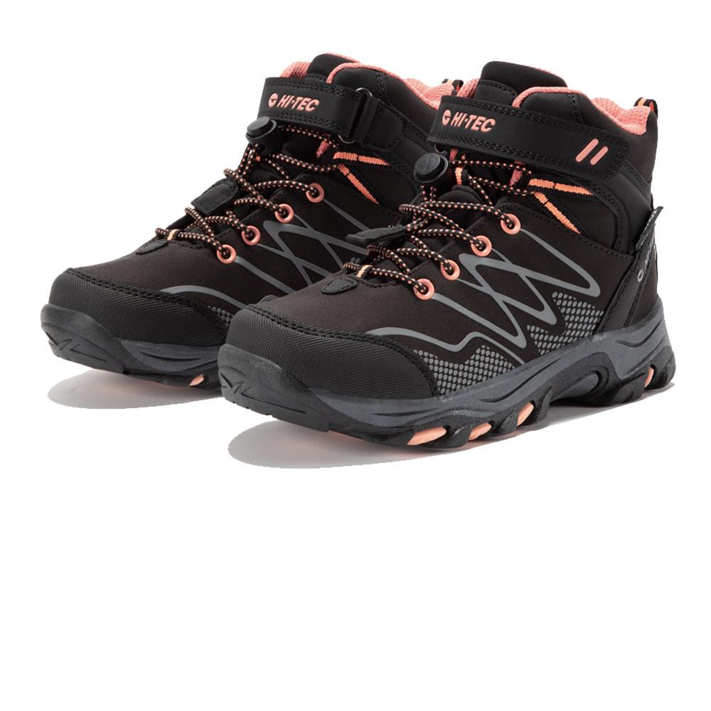 Hi-Tec Blackout Mid Waterproof Junior Walking Shoes