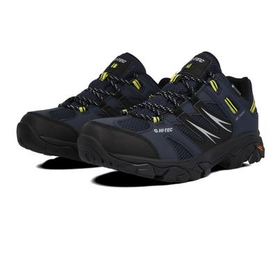 Ecco omni-Vent zapatos caballero zapatillas botín de senderisml Gore-Tex negro /& azul