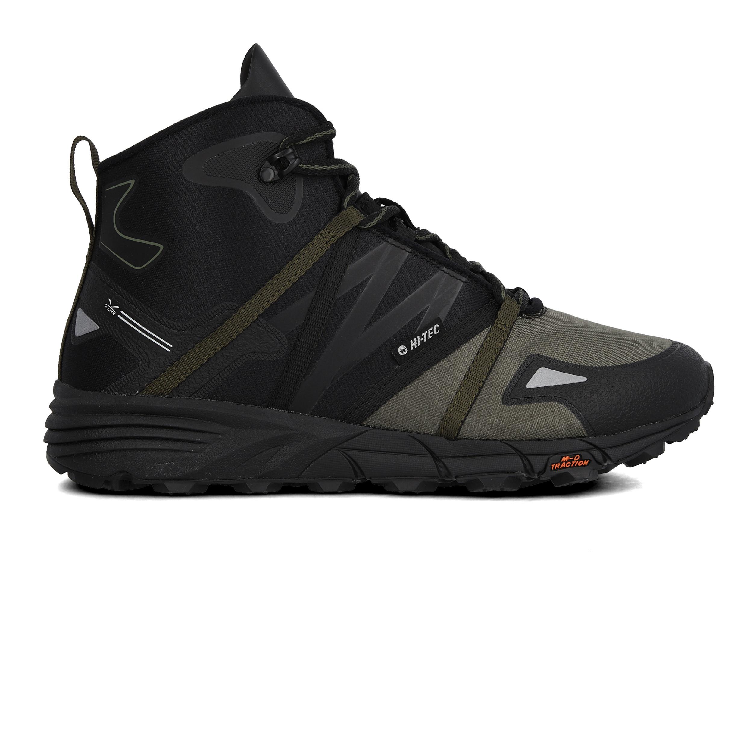 Hi Tec Para Hombre V Lite Shift Botas Para Caminar Me Negro Deportes Transpirable Ebay
