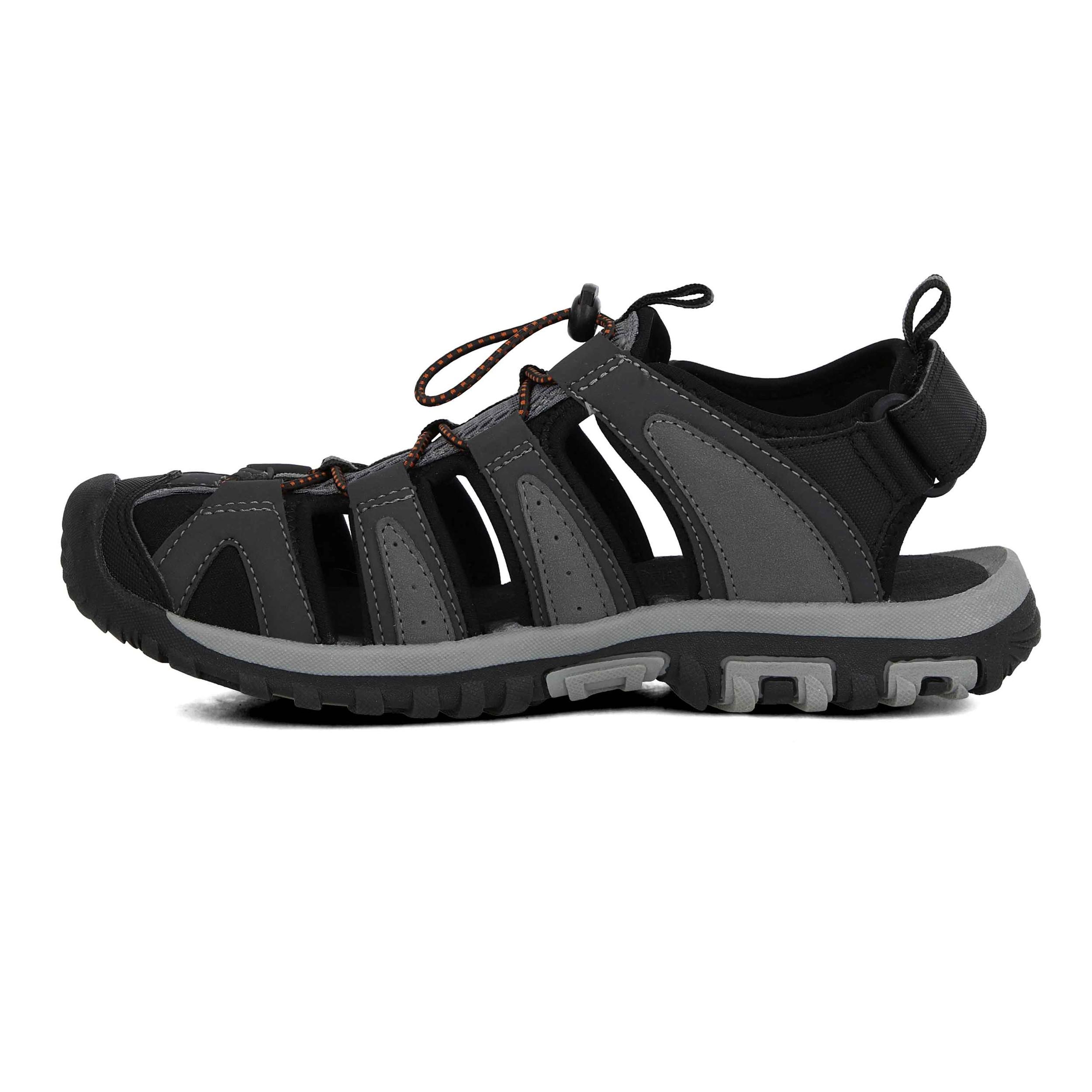 Grey Sports Outdoors Breathable Hi-Tec Mens Cove Breeze Walking Shoes Sandals