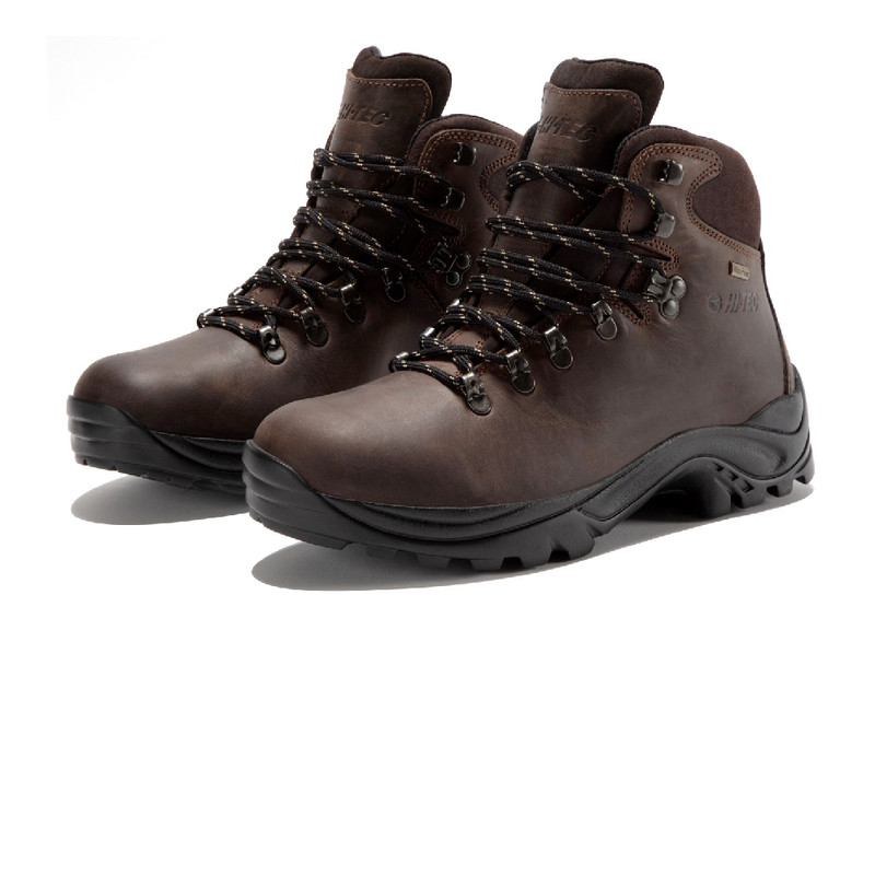 20ca8ced7e9 Details about Hi-Tec Womens Lady Ravine Brown Waterproof Outdoors Walking  Trail Boots Shoes