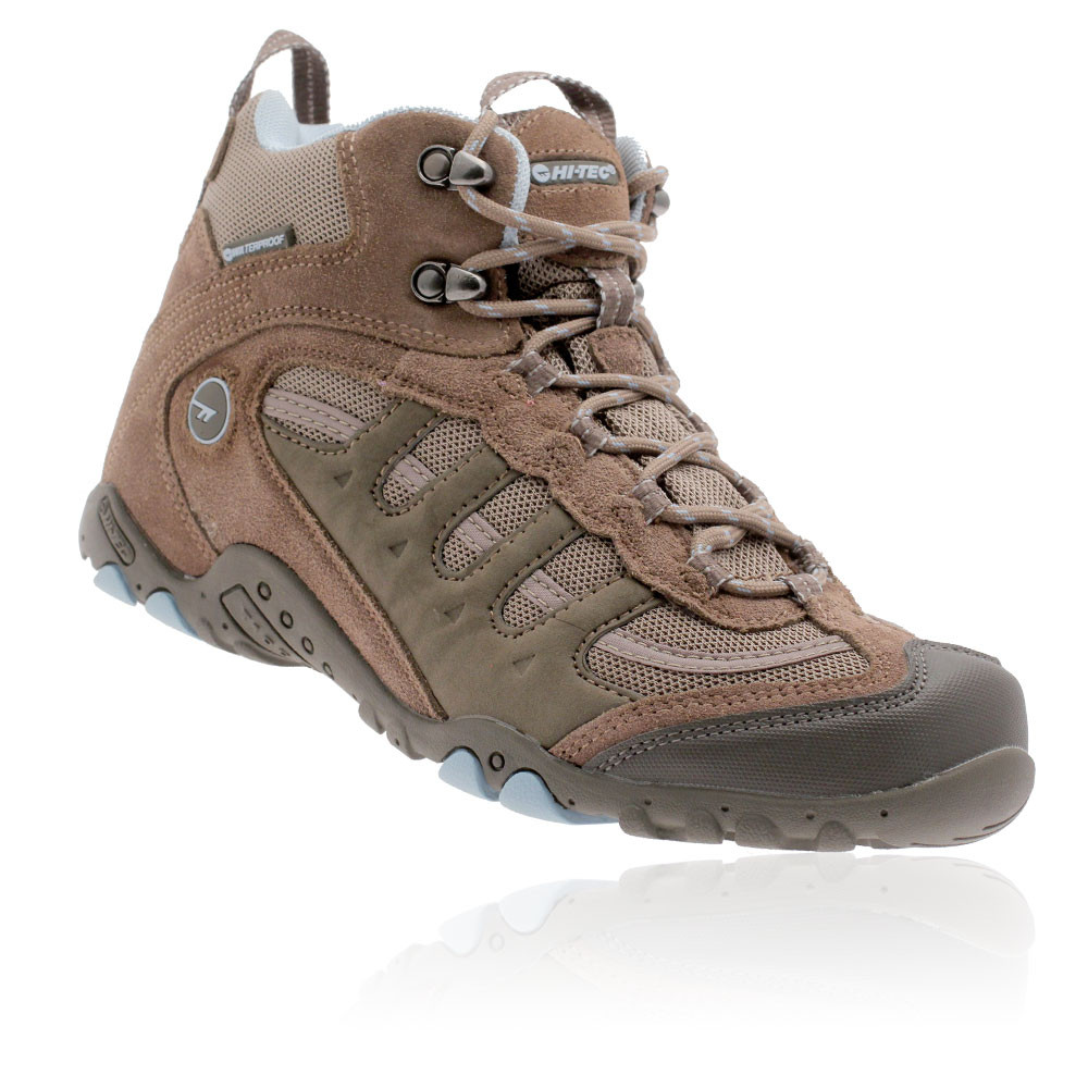 0f9acdd01 Details about Hi-Tec Penrith Mid Womens Brown Waterproof Outdoor Trail  Walking Boots Shoes