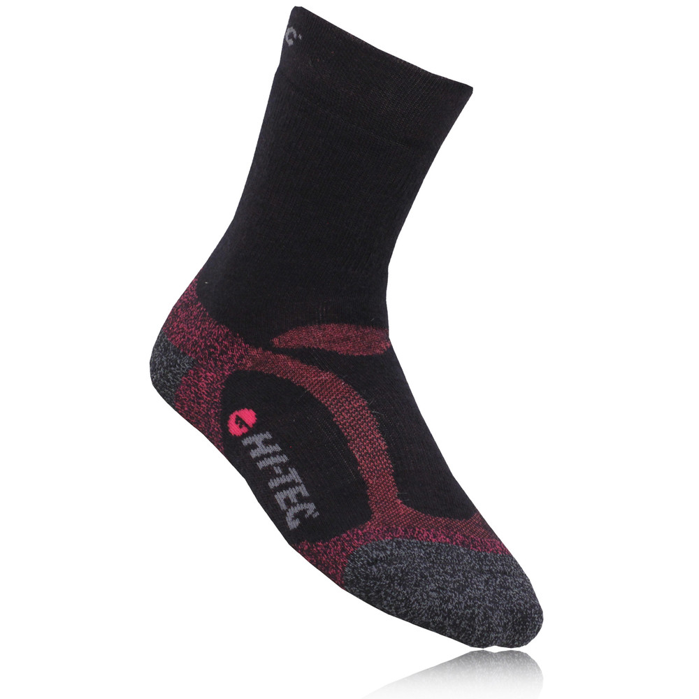 Hi-Tec Merino Wool Midweight Women's Mid Height Walking Socks