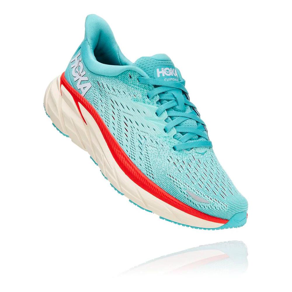 Hoka Clifton 8 per donna scarpe da corsa (Wide) - AW21