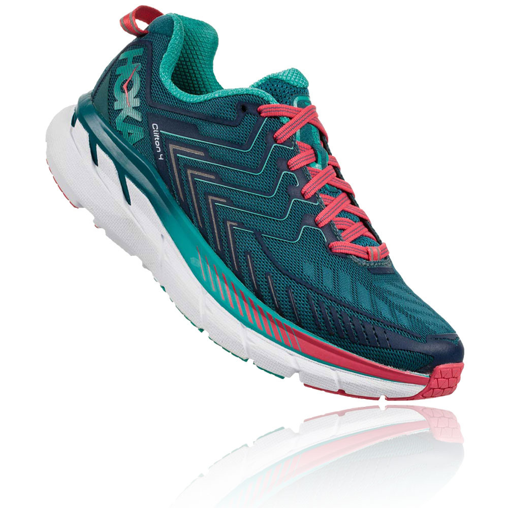 Hoka Women's Clifton 4 Wide Running Shoes (D Width) - SS18 ...