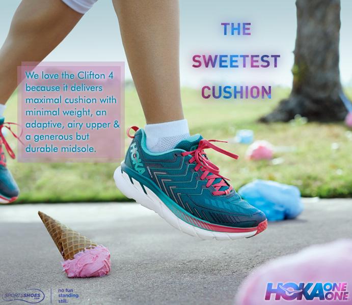 Hoka Clifton 4 Women's Running Shoes - SS18