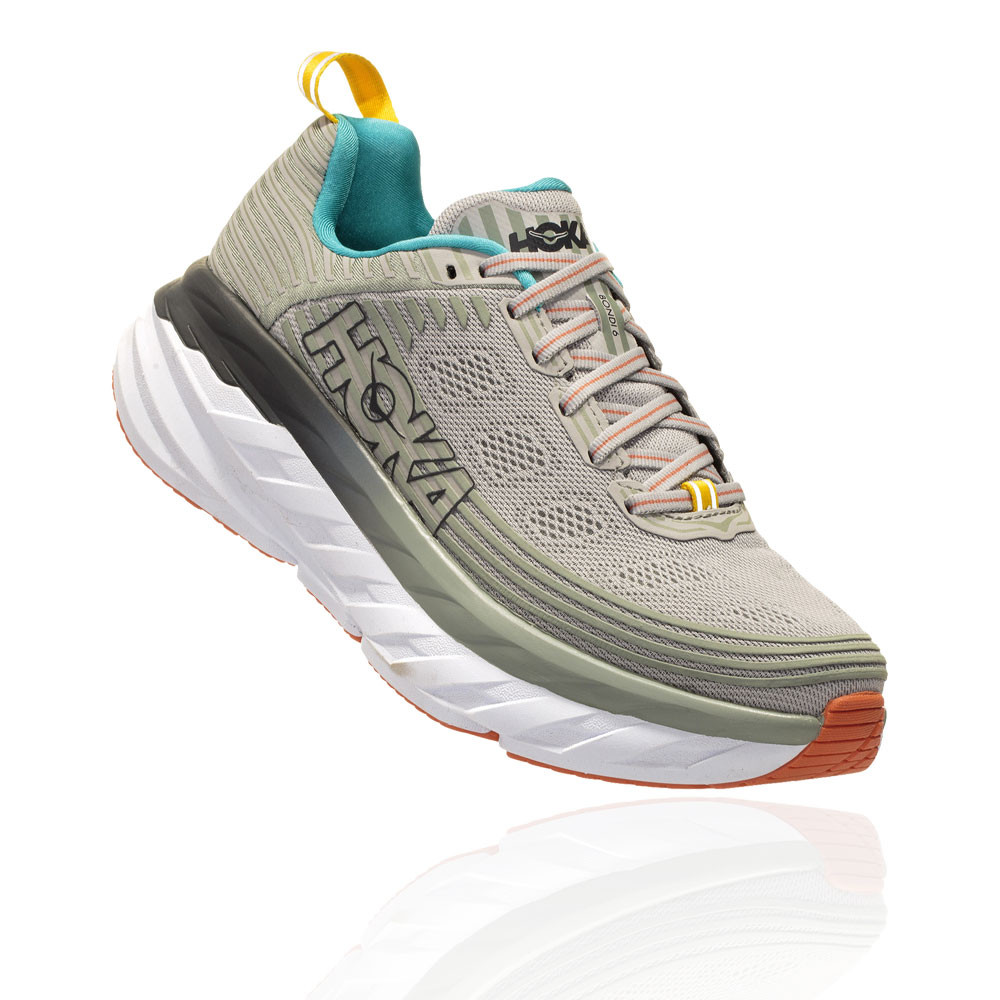 Hoka Bondi 6 Women's Running Shoes (D Width Wide Fit) - SS19