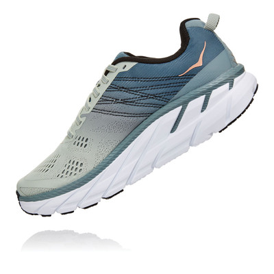 Hoka Clifton 6 Women's Running Shoes (Wide Fit) - SS20