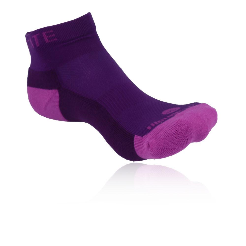 Higherstate Freedom Womens Pink Purple Performance Running Sports Socks 3 Pack