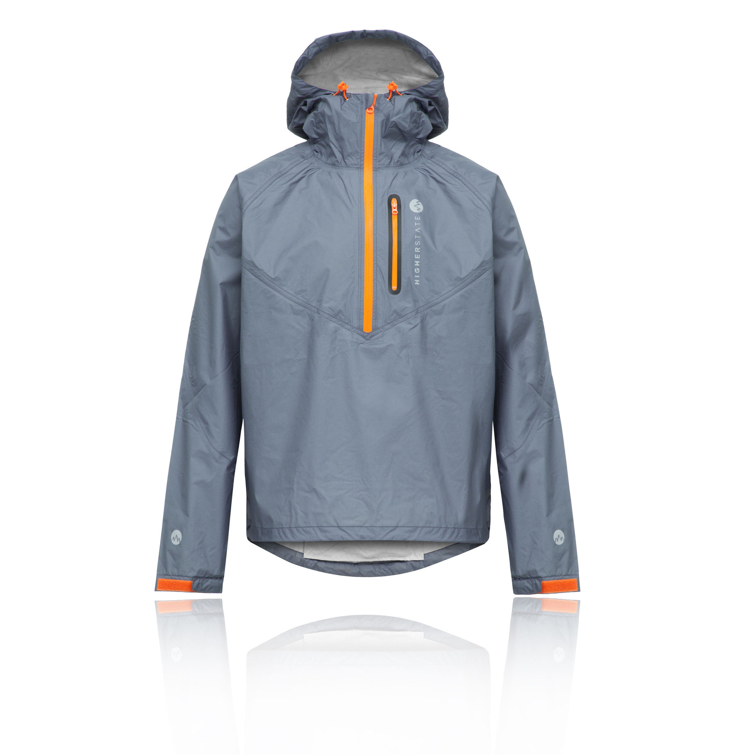 Trail Orange Veste 12 Higher Smock Gris Lite Zip State Hommes 6qqxvFZ