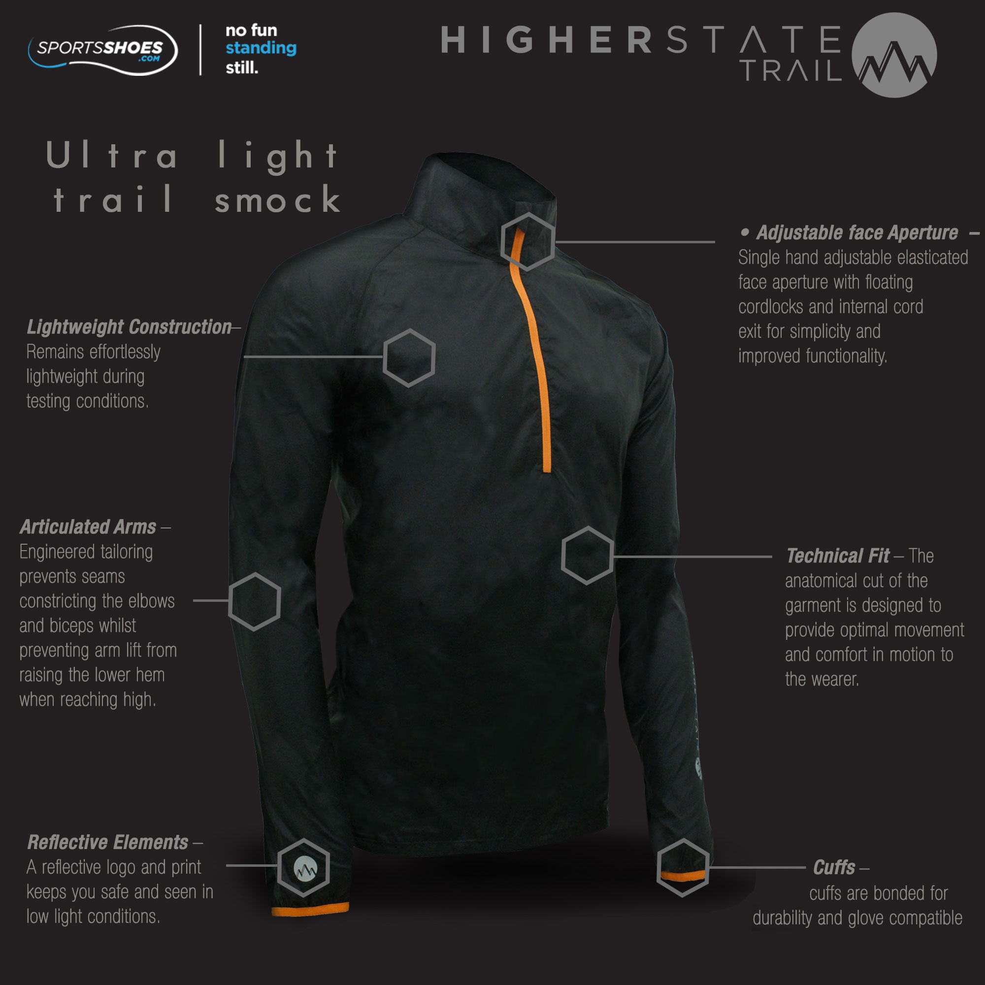 Higher State Trail Ultra Lite Smock Sportsshoes Com