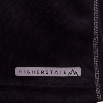 Higher State demi zip manche courte t-shirt de running