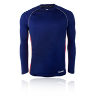 Higherstate de cuello redondo de manga larga camiseta de running