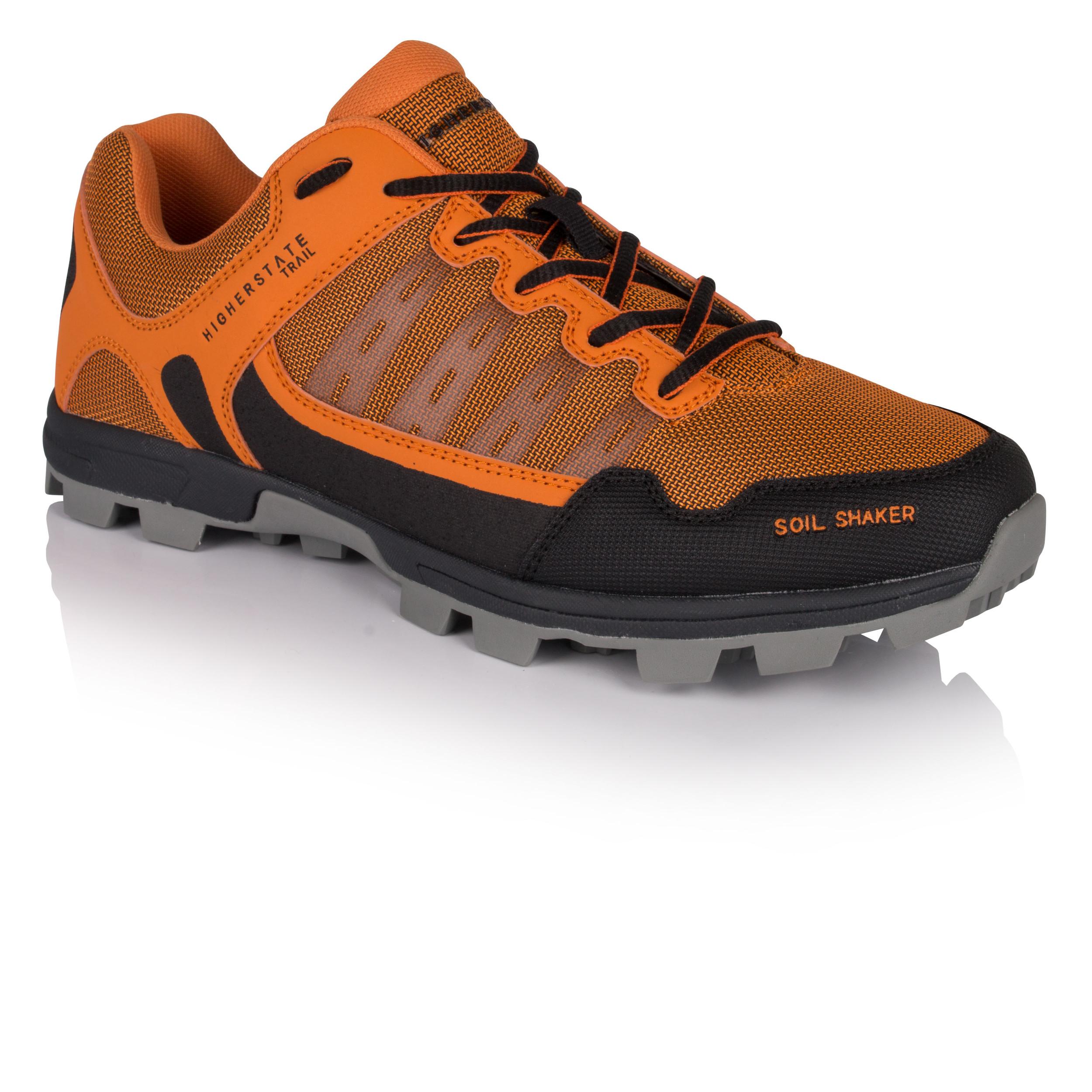 Inov 8 Homme Roclite 320 GTX Trail Chaussures De Course Baskets Sneakers Noir Orange
