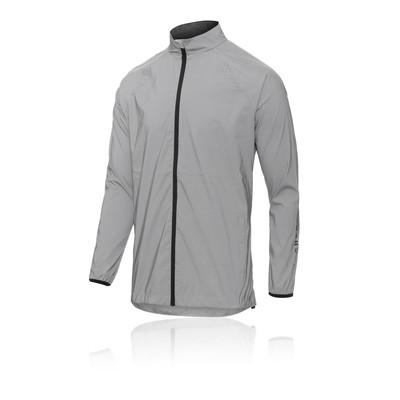 Higher State Mens Stretch Waterproof Mountain Running Jacket Top Orange Sports