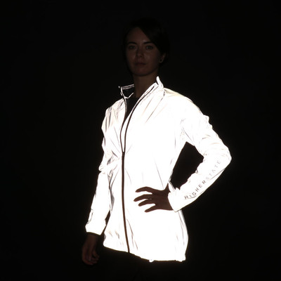 Higher State Women's All Over Reflective Running Jacket - AW19