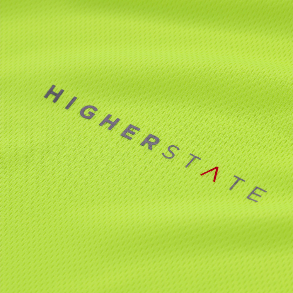 Higher State Crew Neck Long Sleeve Running Top AW19