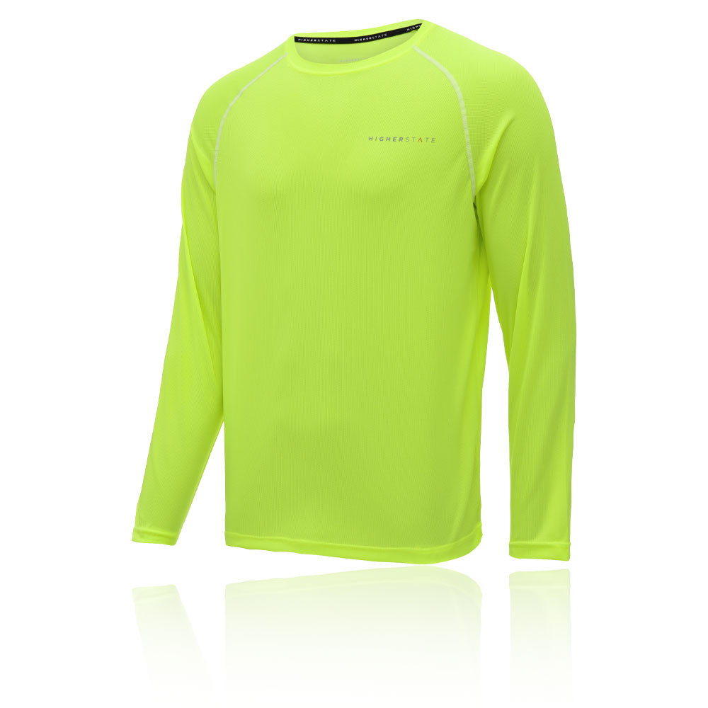 Higher State de cuello redondo L/S camiseta de running 2.0 - SS20