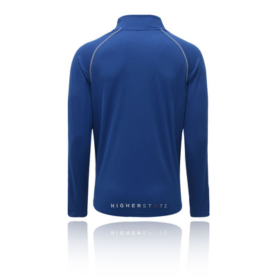 Higher State media cremallera L/S camiseta de running 2.0 - AW19