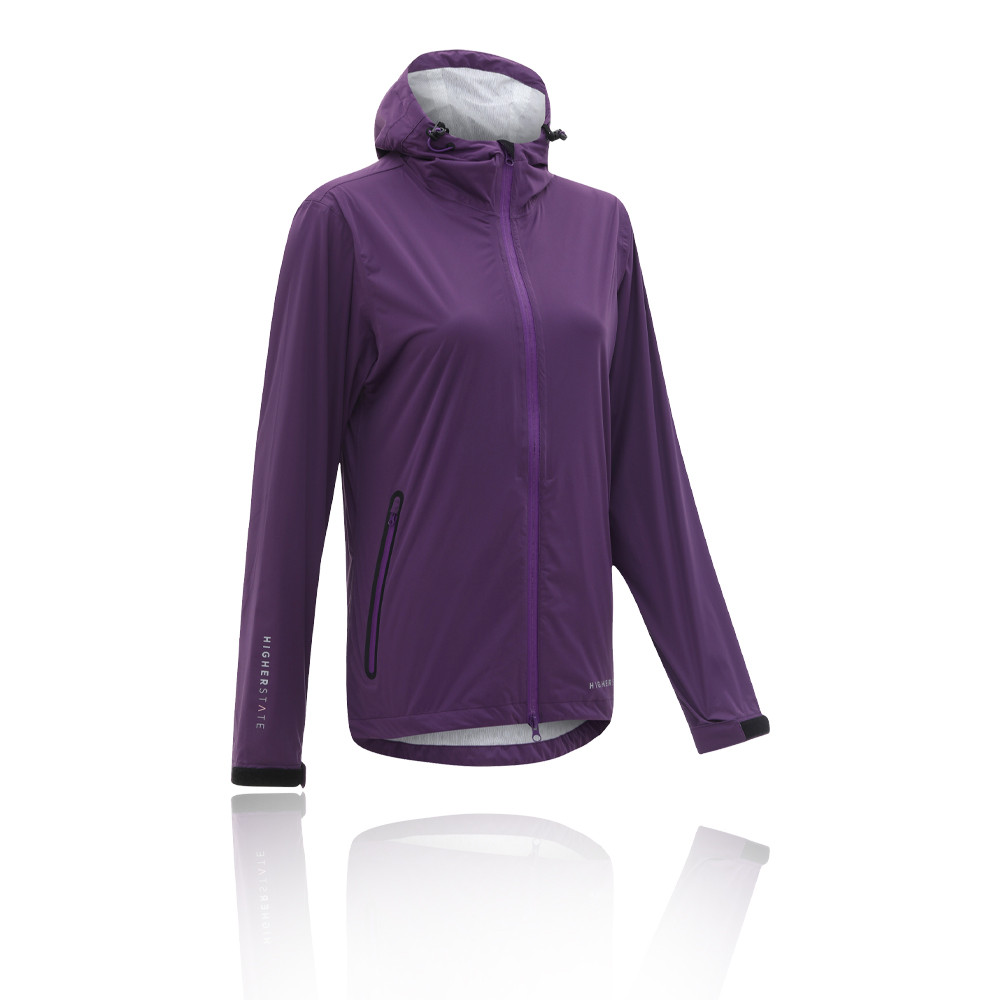 Higher State Stretch impermeable para mujer Mountain chaqueta de running - SS21