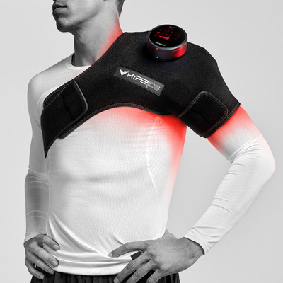 Hyperice Venom Heat And Vibration Therapy Support - Left Shoulder - AW19