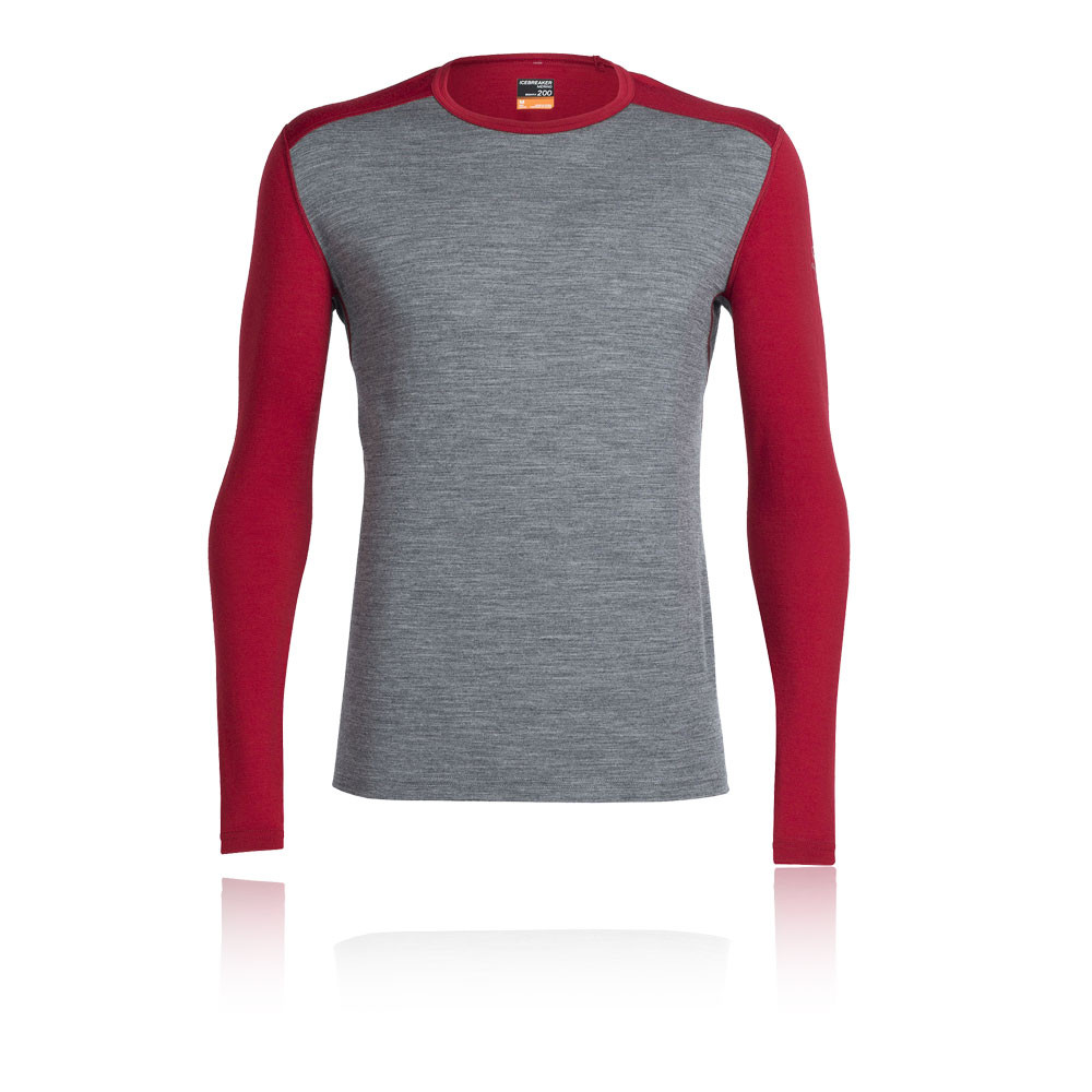 ICEBREAKER OASIS COL ROND TOP - AW16