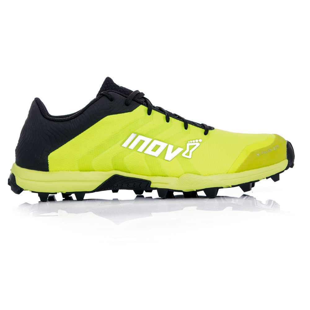 Details about Inov8 X-Talon 225 Unisex Yellow Black Water Resistant Sports Shoes  Trainers 7fb9139adb2