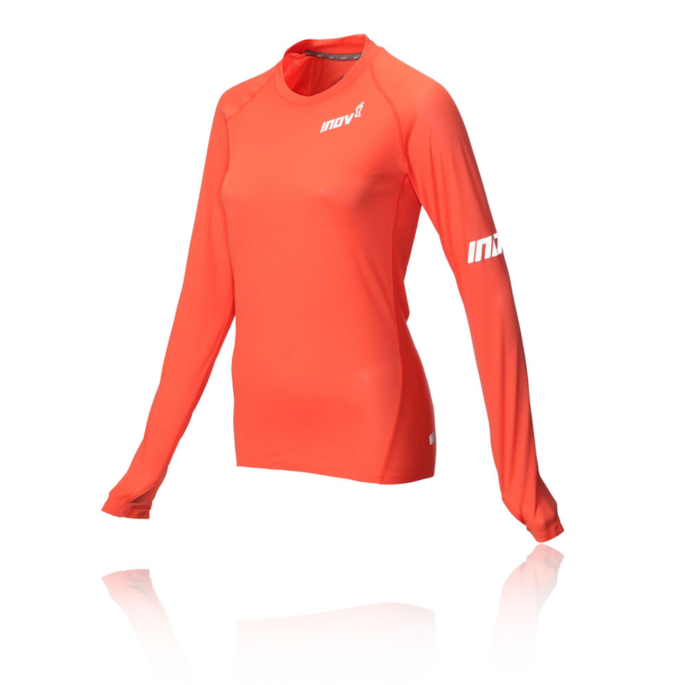 Inov8 AT/C Base LS para mujer camiseta de running