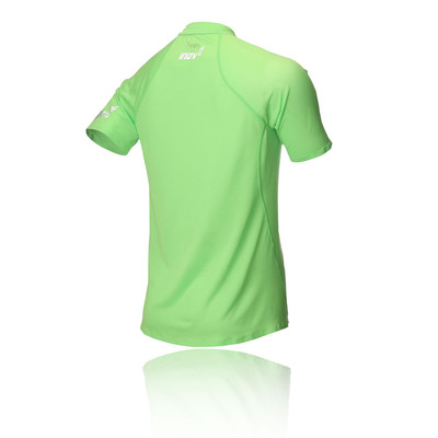 Inov8 AT/C Base Short Sleeve Zip Running Top
