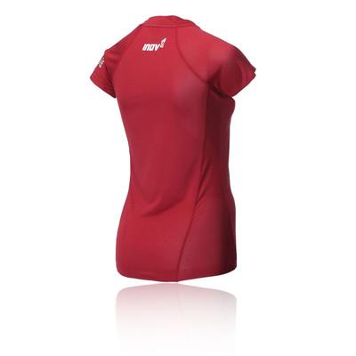 Inov8 AT/C Base Short Sleeve Zip Women's Running Top