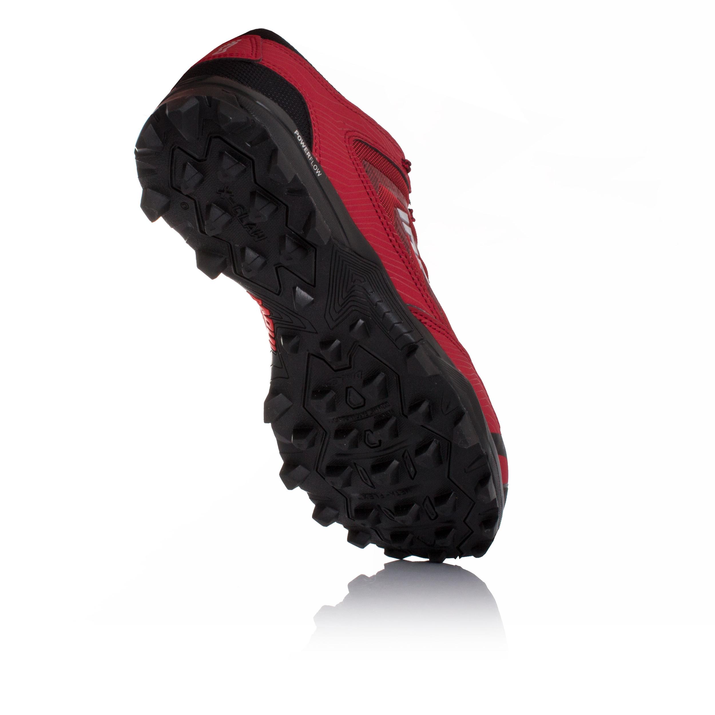 Details Claw Zu Laufschuhe Sport Turnschuhe Inov8 X 275 Trail Schuhe Rot Schwarz Herren lF1cJK