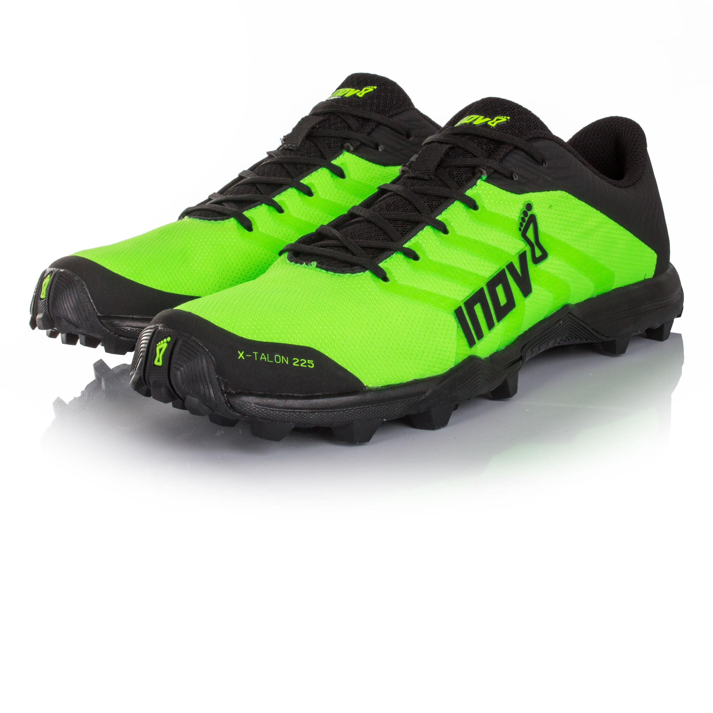d345e7fd73ea3 Inov8 Unisex Verde X-Talon 225 Sendero Correr Deporte Zapatos Zapatillas