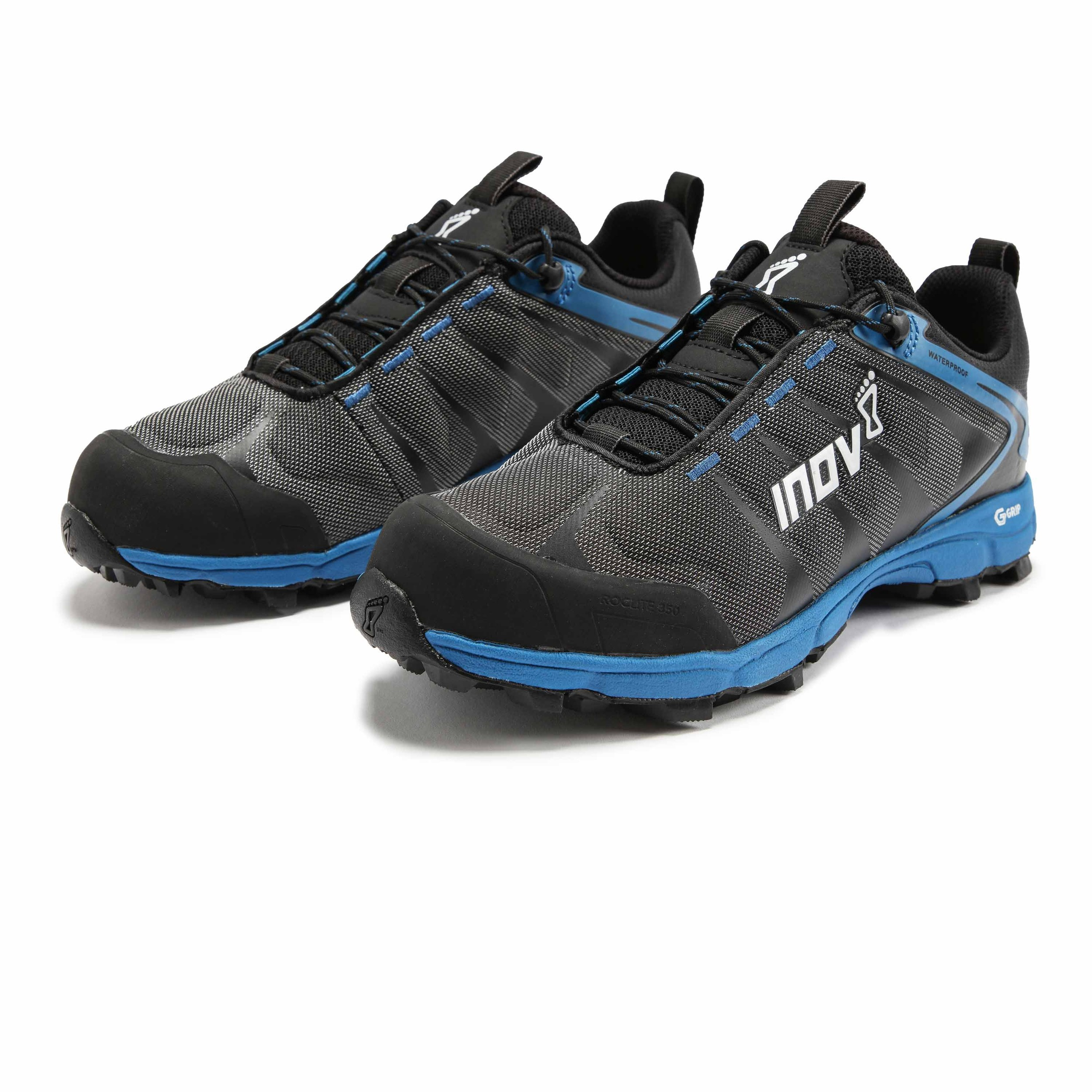 Inov8 Womens Roclite 300 Trail Running Shoes Trainers Sneakers Blue Grey Sports