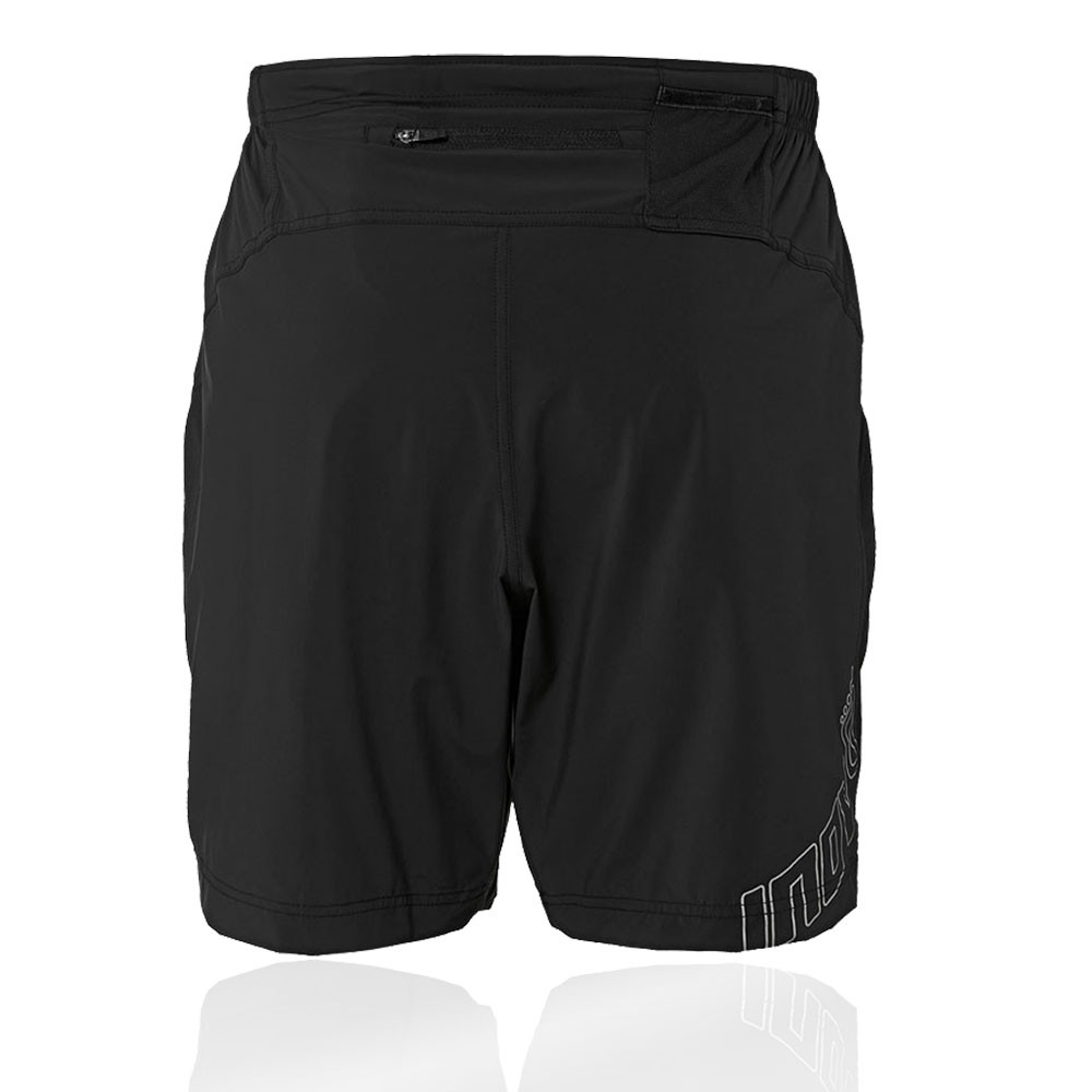 Inov8 Race Elite Mens 2 In 1 Running Shorts Clothing, Shoes & Accessories Black