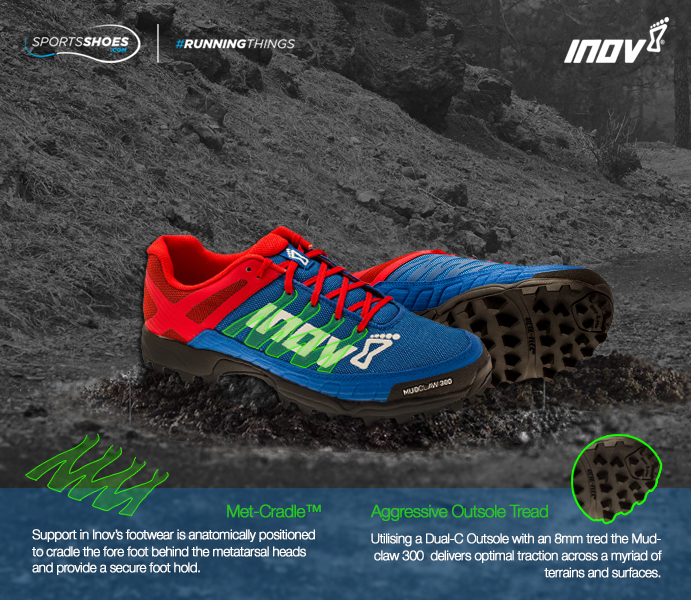 Inov-8 Mudclaw 300 Fell Running Shoes - SS16