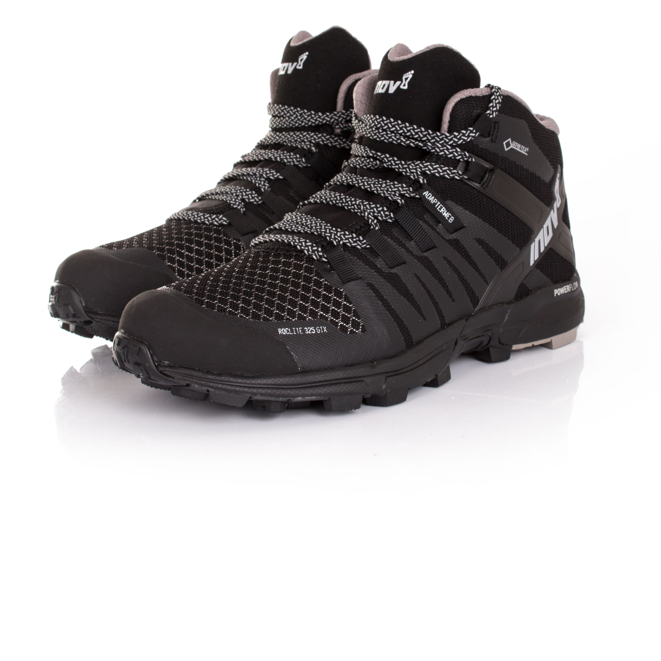 Inov8-Roclite-325-Mens-Black-Waterproof-Gore-Tex-Running-Sports-Shoes-Trainers thumbnail 9
