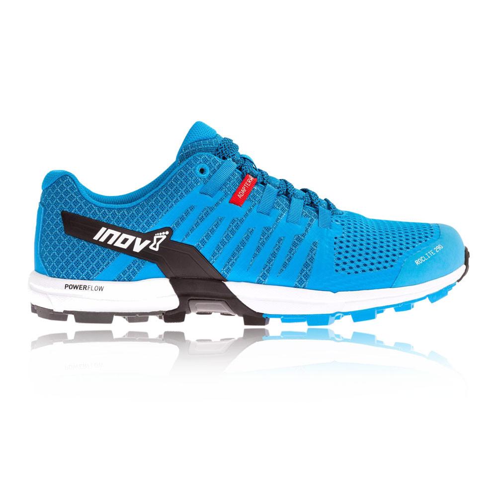 Inov8 Roclite 290 Trail Herren Laufschuhe Jogging Turnschuhe Sport Schuhe Blau
