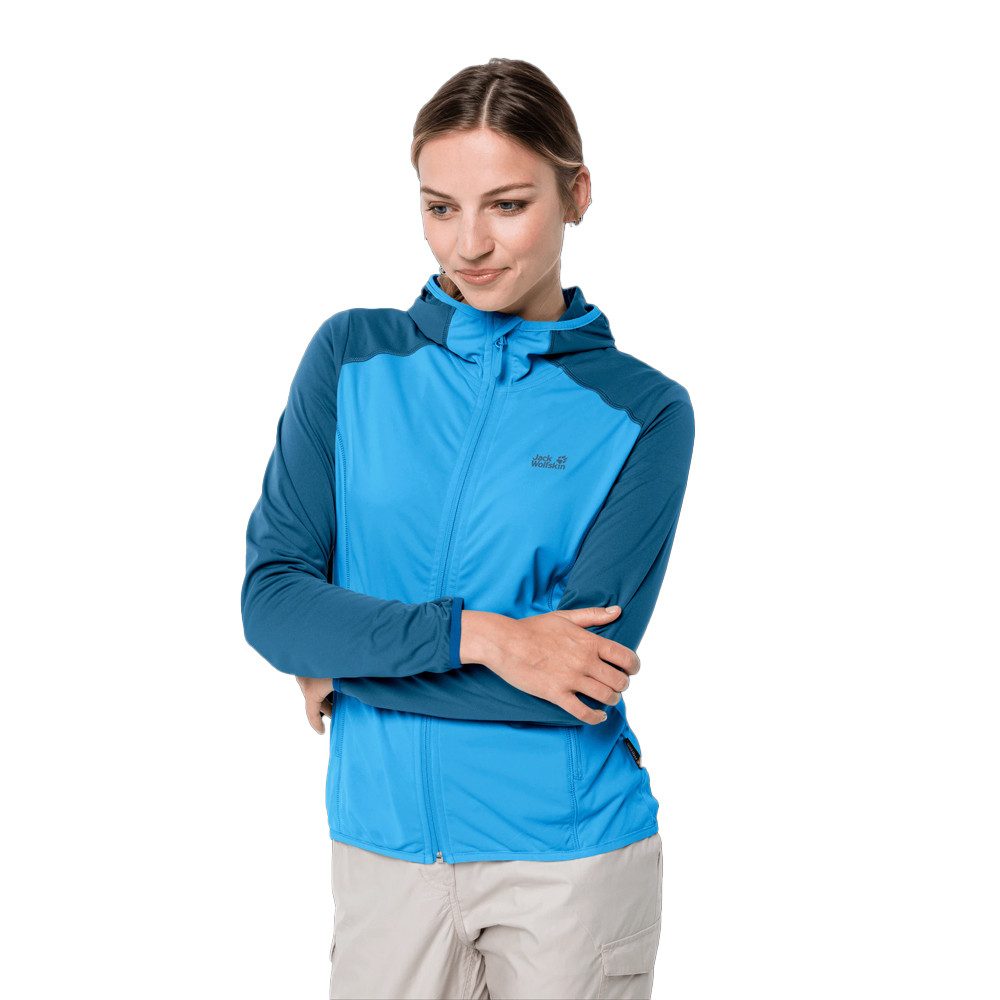 Jack Wolfskin Hydro Hooded Light per donna giacca