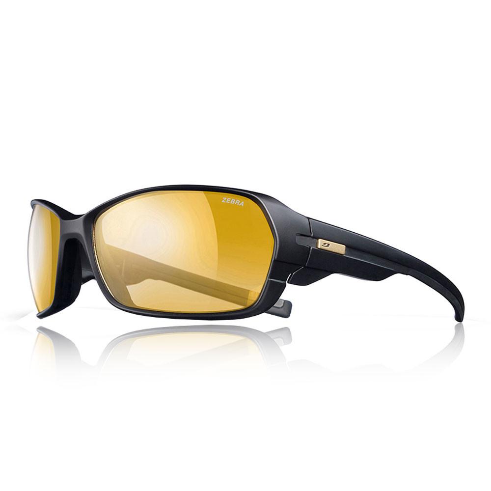 ced5f60d00ec5e Julbo Unisex Dirt 2.0 Zebra Sunglasses Black Sports Running Breathable