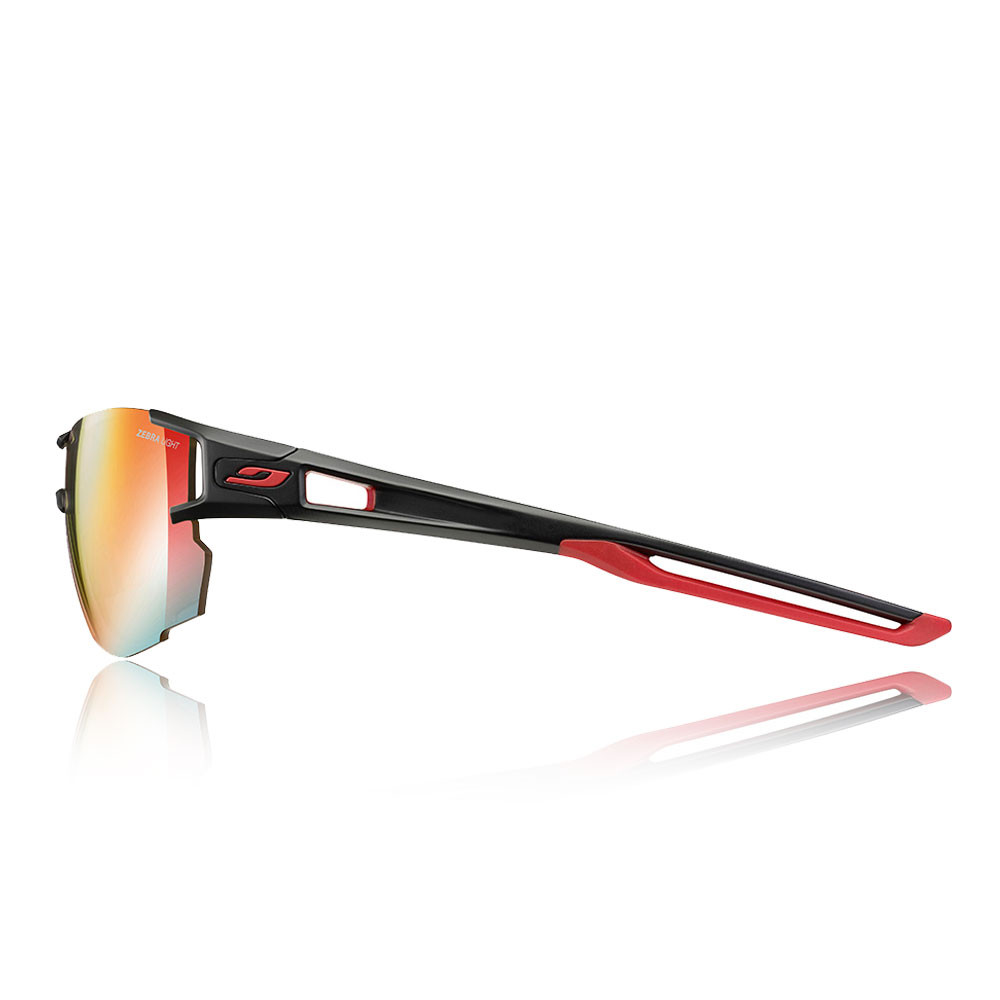 b126ae96f4262b Julbo Unisex Aerolite Zebra Light Fire Sunglasses Black Red Sports Running