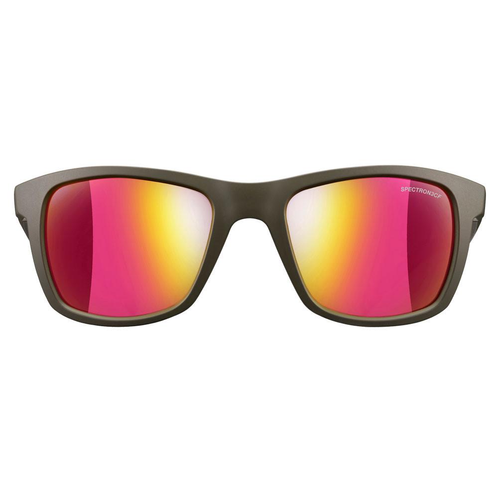 Julbo Mens Beach Spectron 3 CF Sunglasses Green Pink Sports Outdoors Lightweight