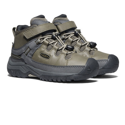 Keen Targhee Mid Impermeabile Junior stivali da passeggio