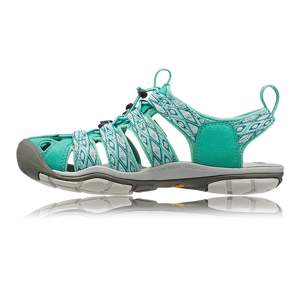 Keen-Clearwater-CNX-Mujer-Verde-Resiste-Agua-Caminar-Sandalias-Zapatos-Calzado