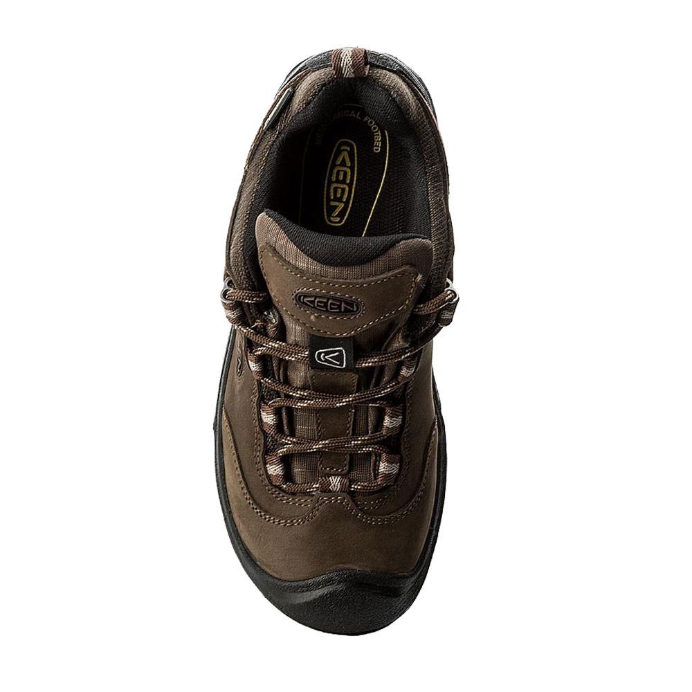 on sale 47d8c a972f Details zu Keen Wanderer Mid Damen Wasserdicht Schuhe Trekkingschuhe  Wanderschuhe Grün