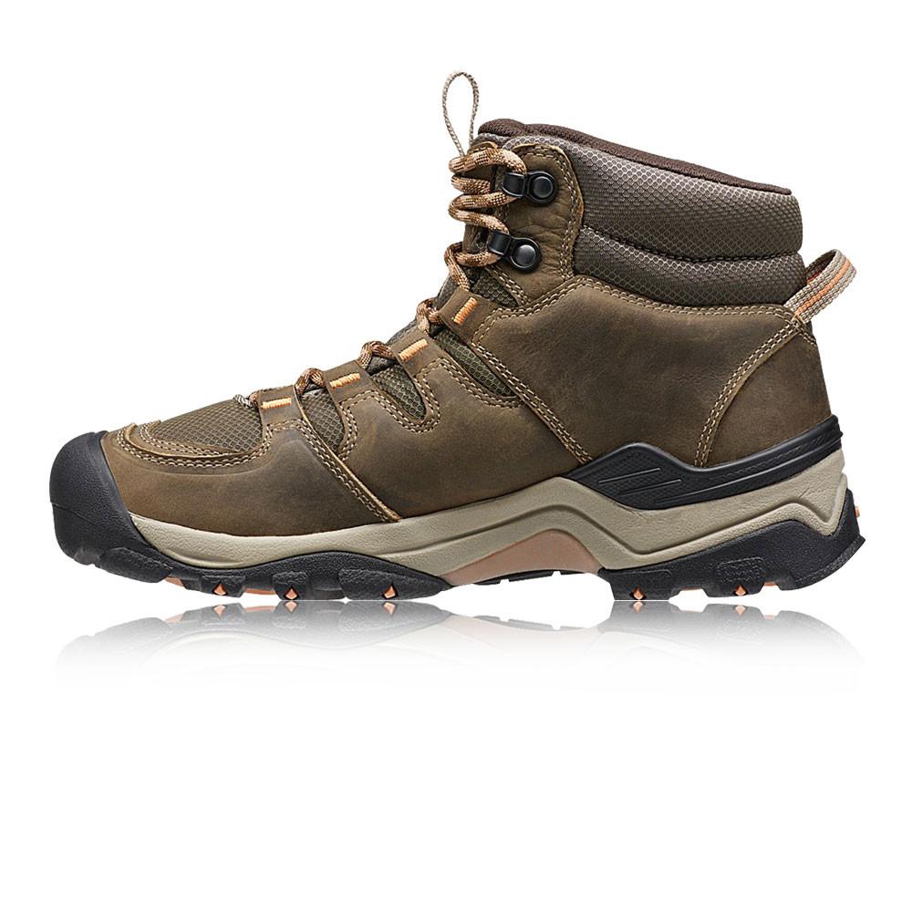 Keen Gypsum II Mid Womens Brown Waterproof Walking Hiking ...